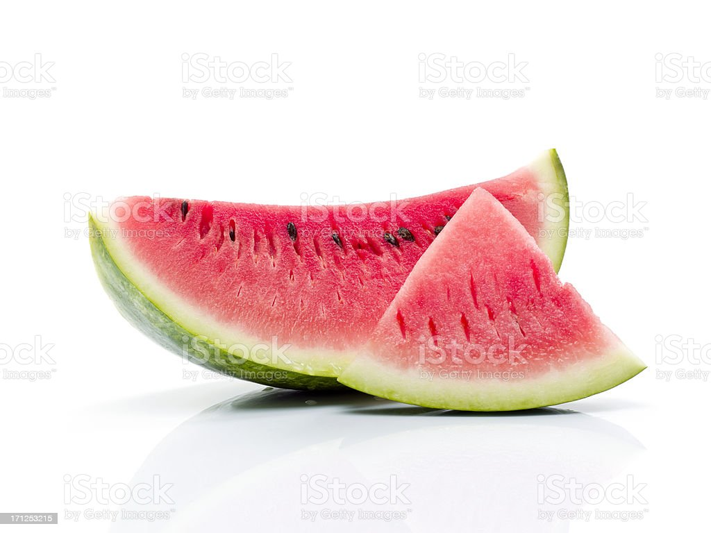 Slice of watermelon stock photo