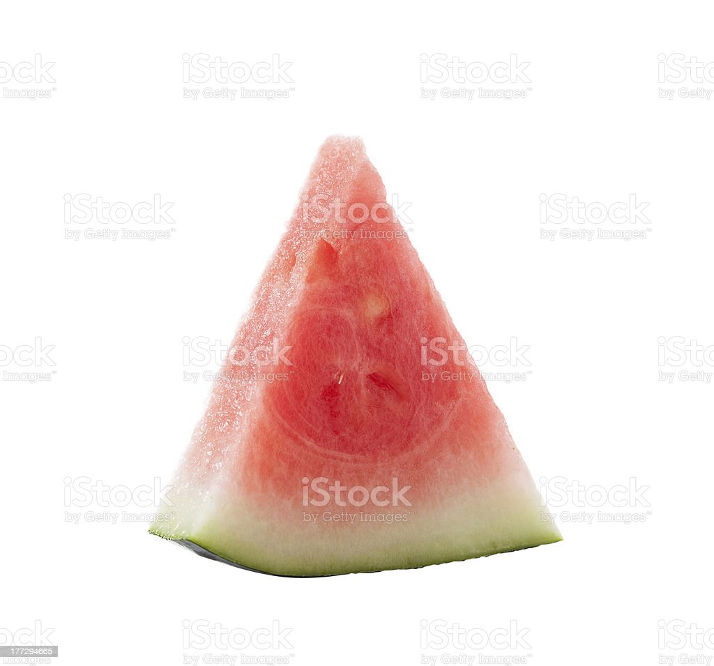 Slice of Watermelon royalty-free stock photo