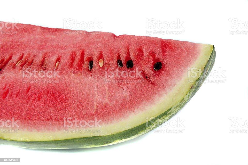 Slice of watermelon royalty-free stock photo