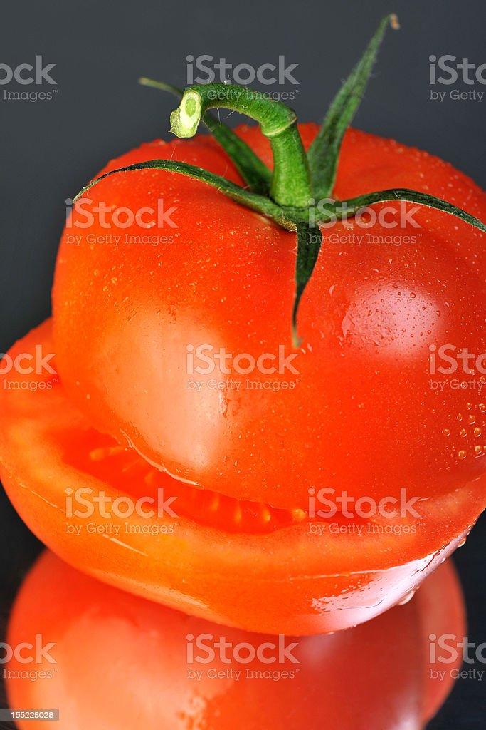 slice tomato royalty-free stock photo