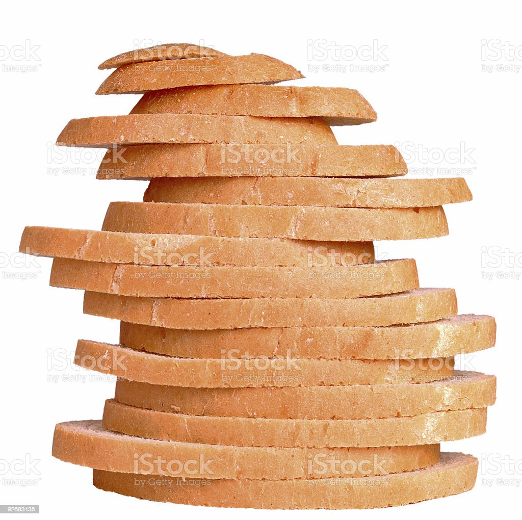 slice wheat bread royalty-free stock photo