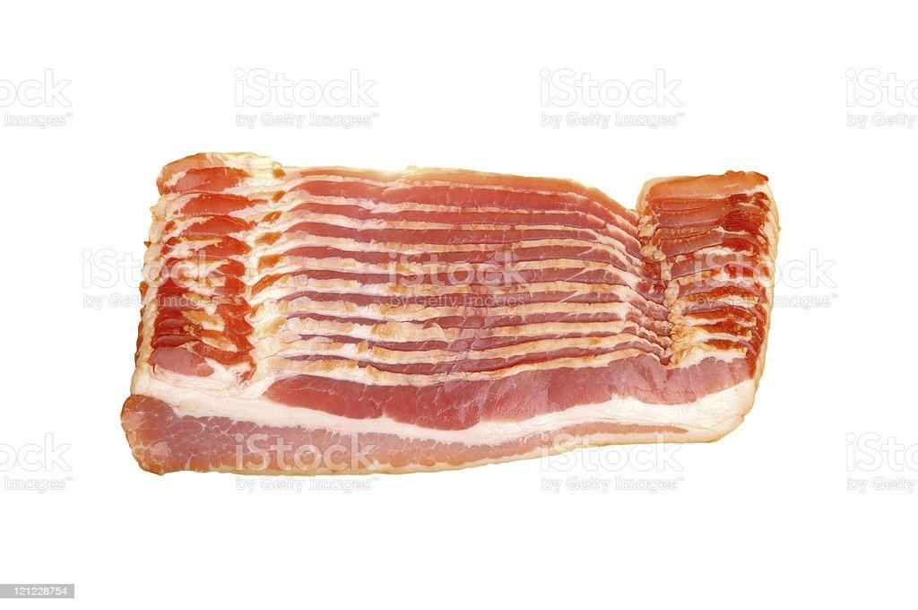 sliced bacon royalty-free stock photo