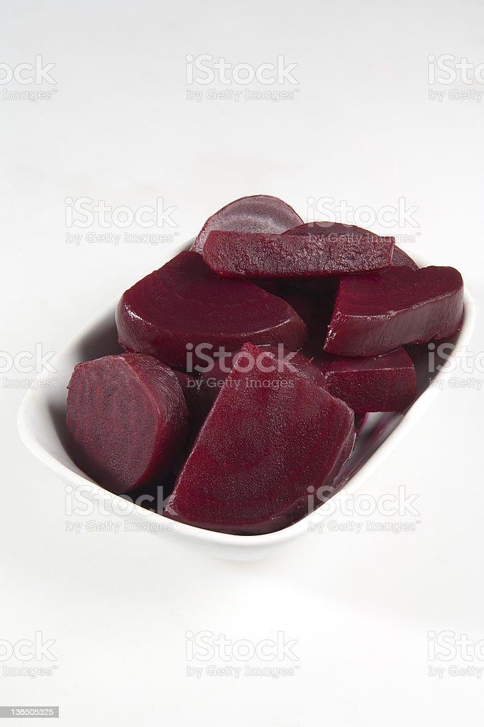 Sliced Beet royalty-free stock photo