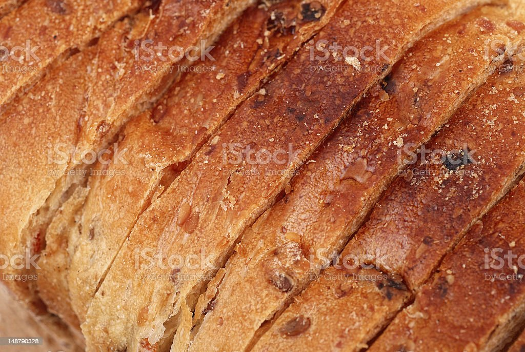 sliced bread as background royalty-free stock photo