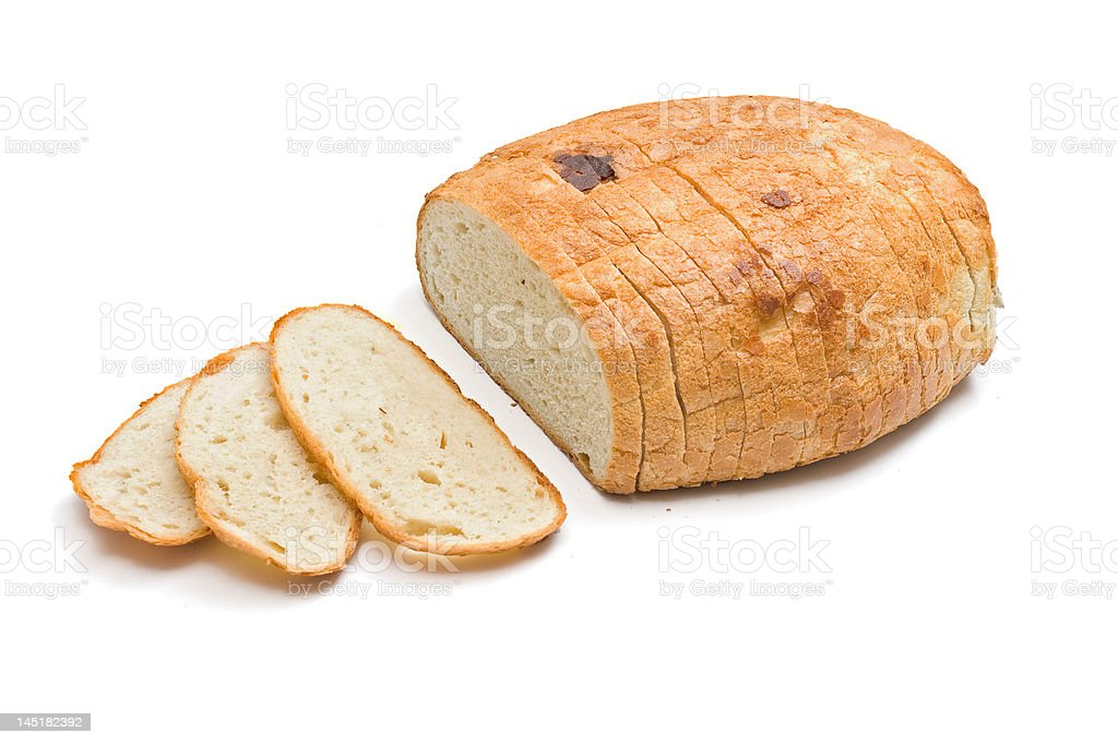 Sliced bread royalty-free stock photo