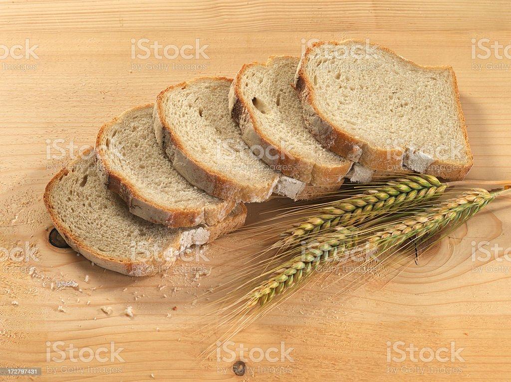 Sliced bread. royalty-free stock photo