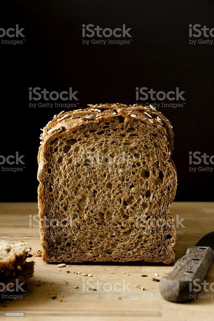 Sliced bread. stock photo