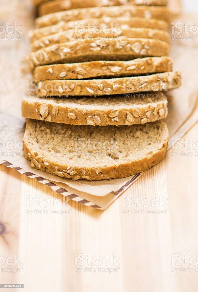 Sliced Breads stock photo