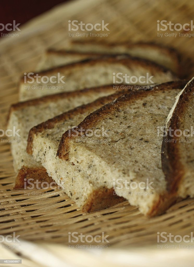 Sliced breads royalty-free stock photo