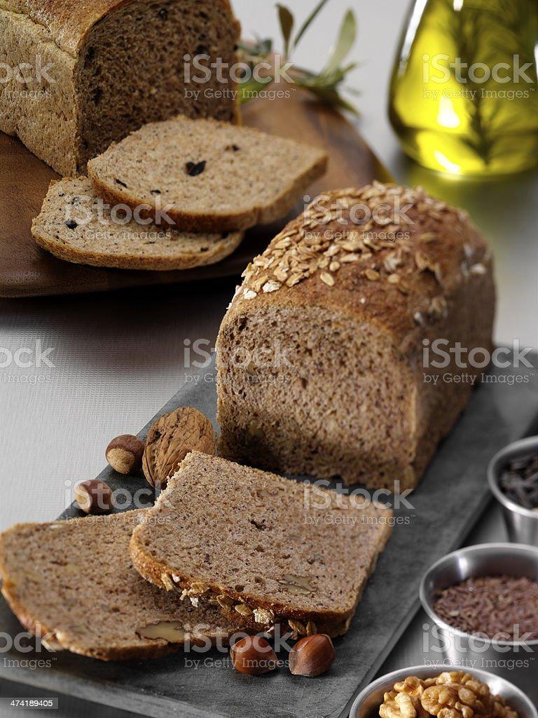 Sliced bread-stillife stock photo