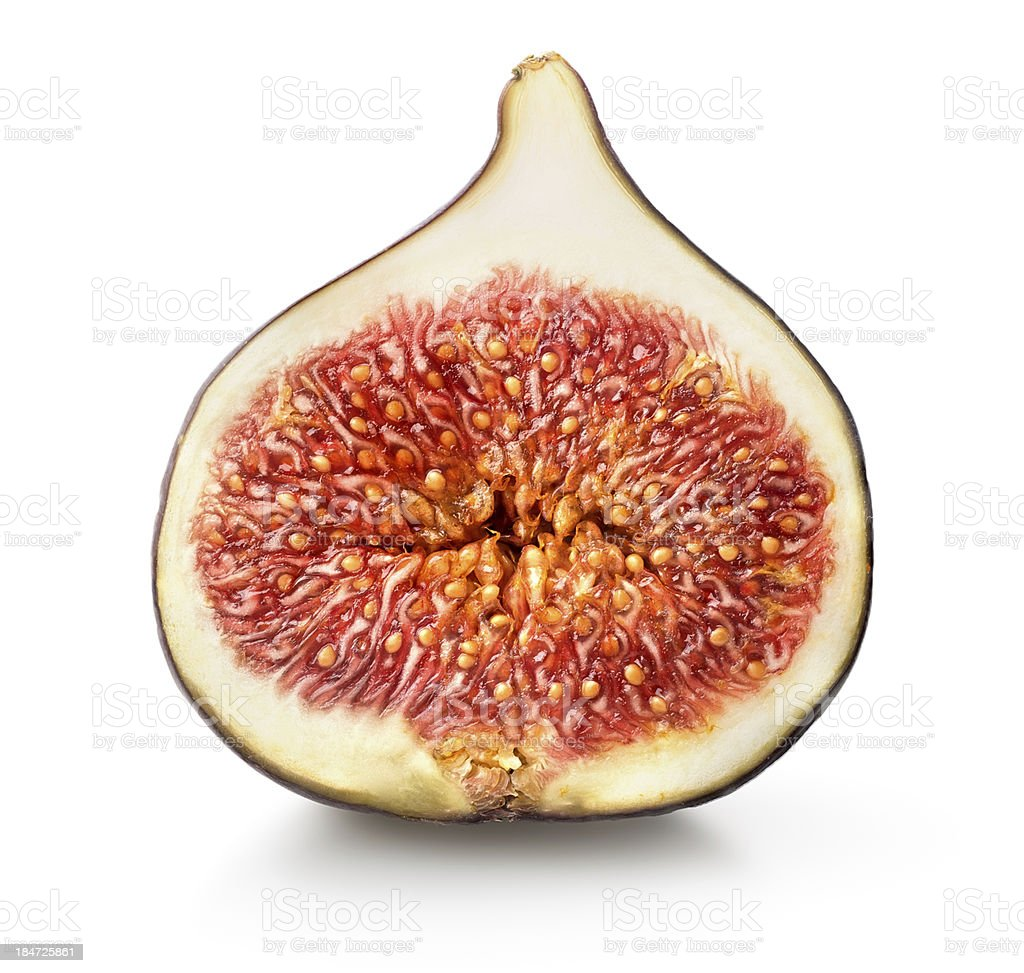 Sliced ?€‹?€‹figs royalty-free stock photo