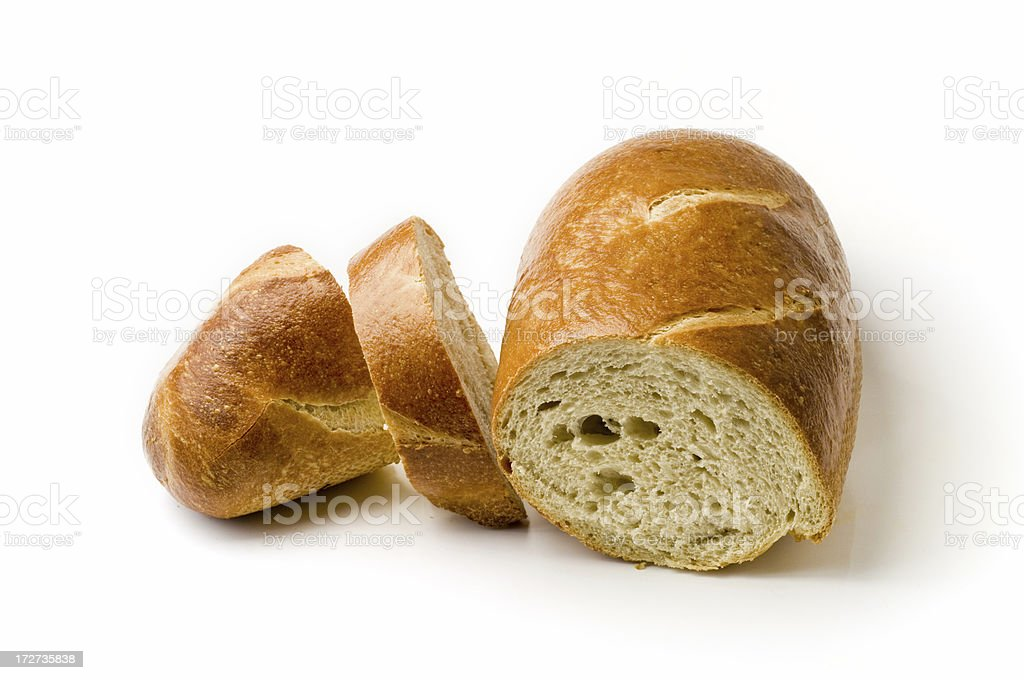 Sliced French Bread royalty-free stock photo