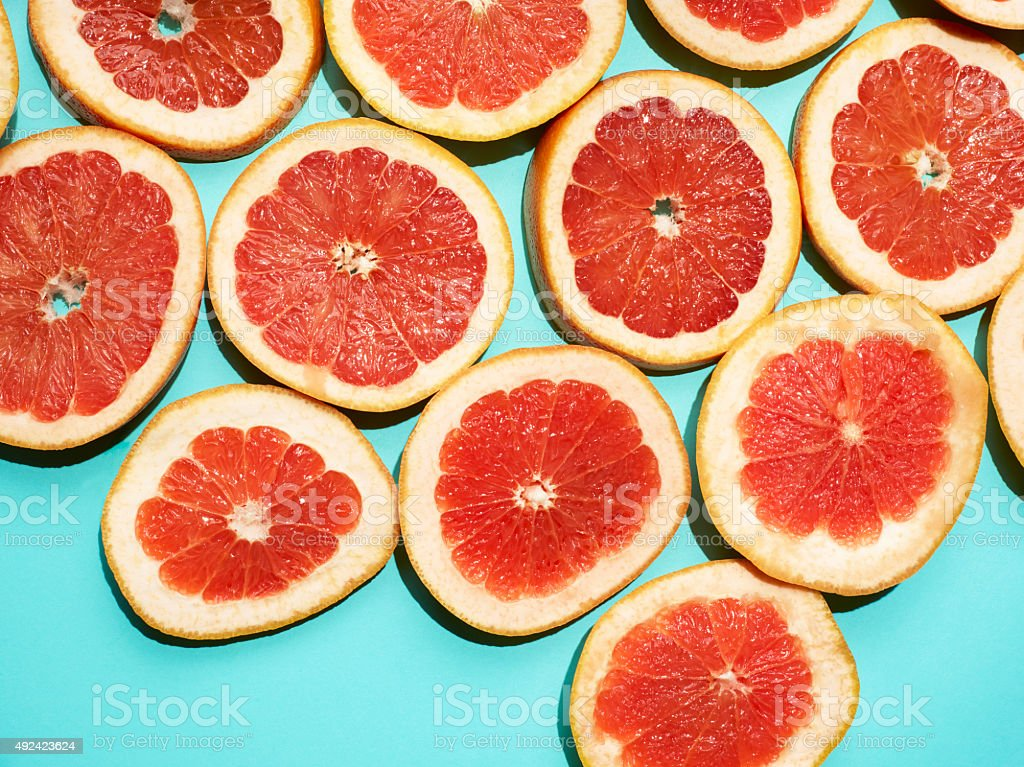 Grapefruit Background (Click for more) stock photo
