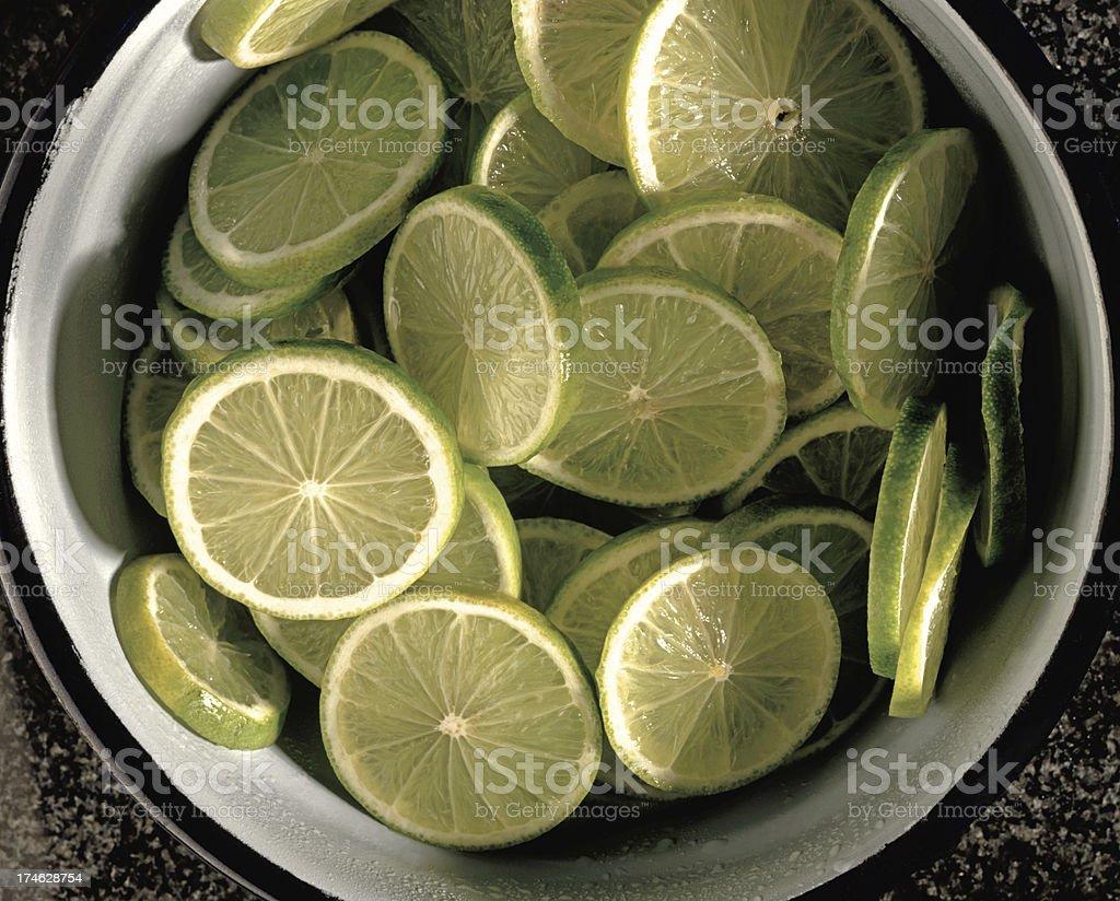 Sliced Lemon royalty-free stock photo