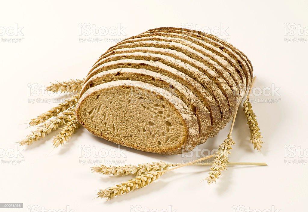 Нарезной хлеб Стоковые фото Стоковая фотография