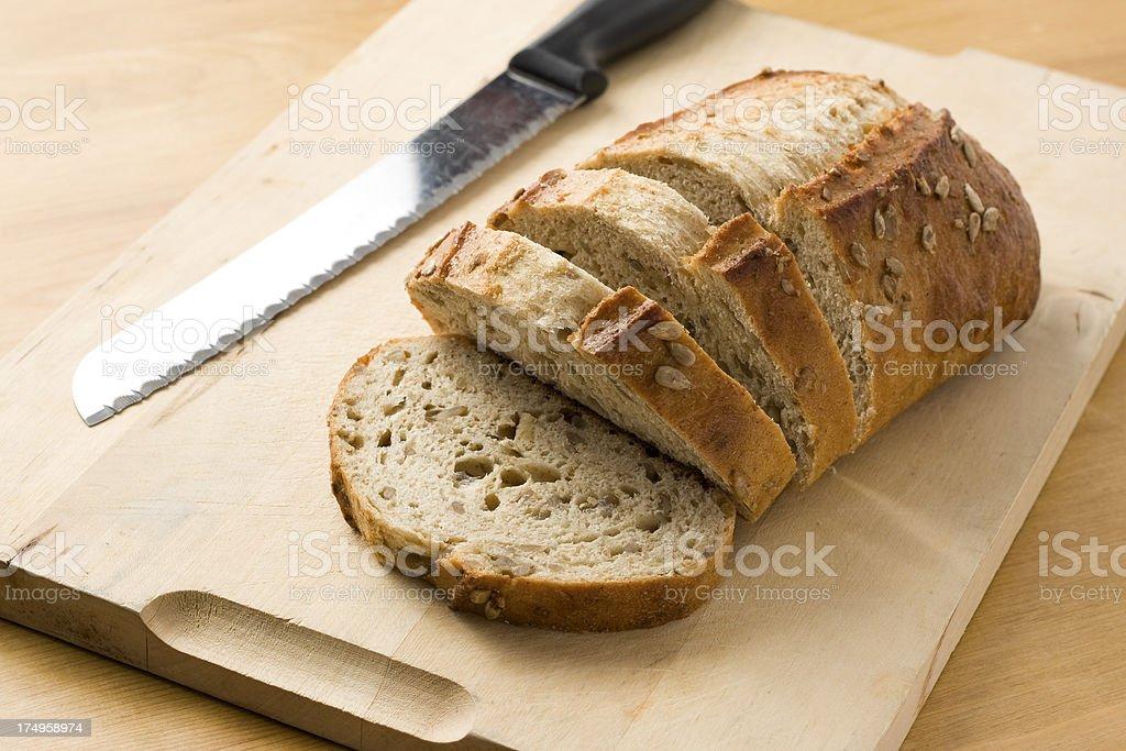 Sliced Loaf stock photo
