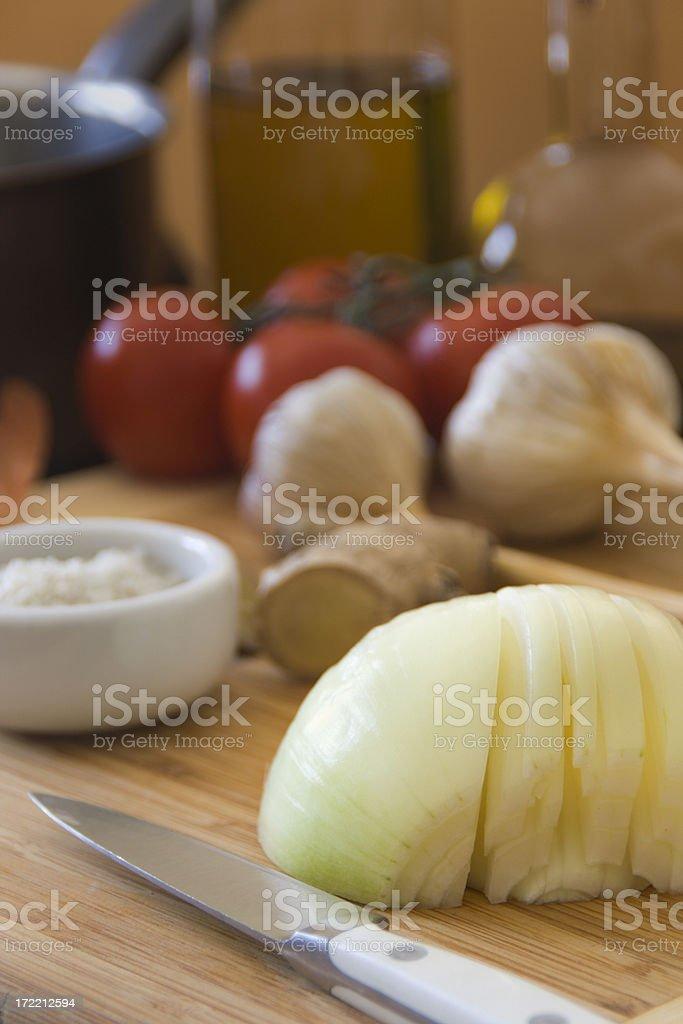 Sliced Onion Vt royalty-free stock photo