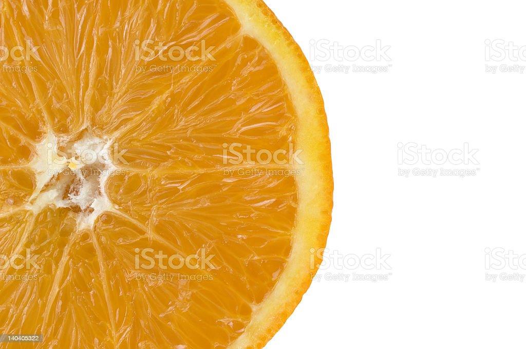 Sliced Orange. royalty-free stock photo