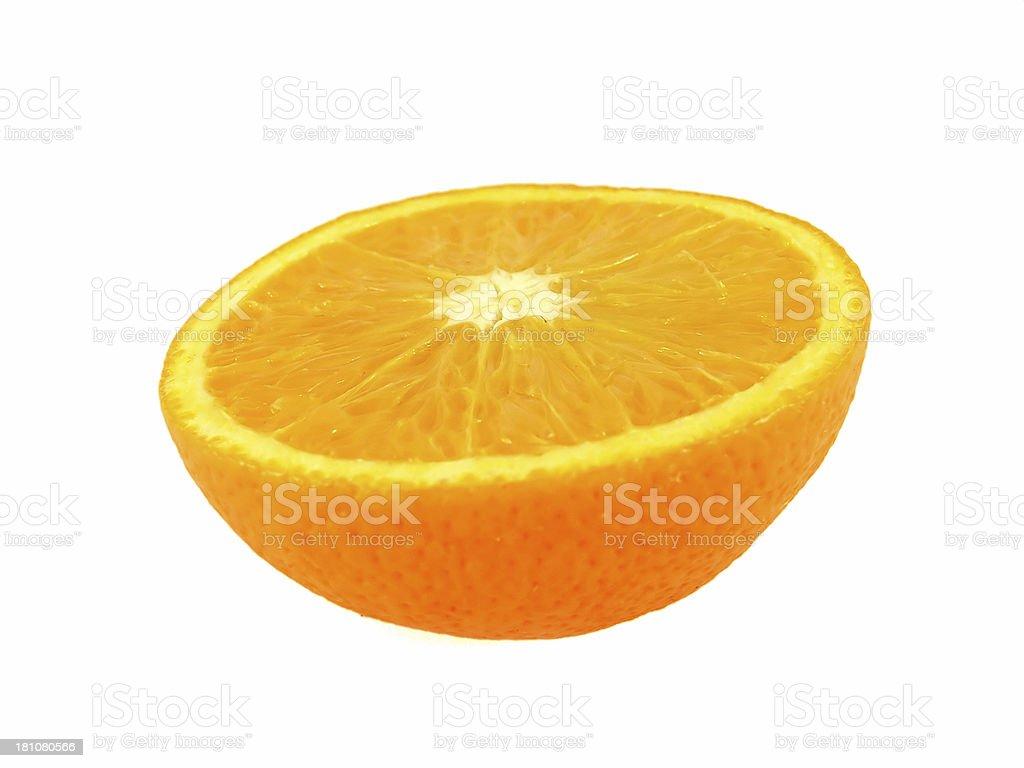 Sliced Orange royalty-free stock photo