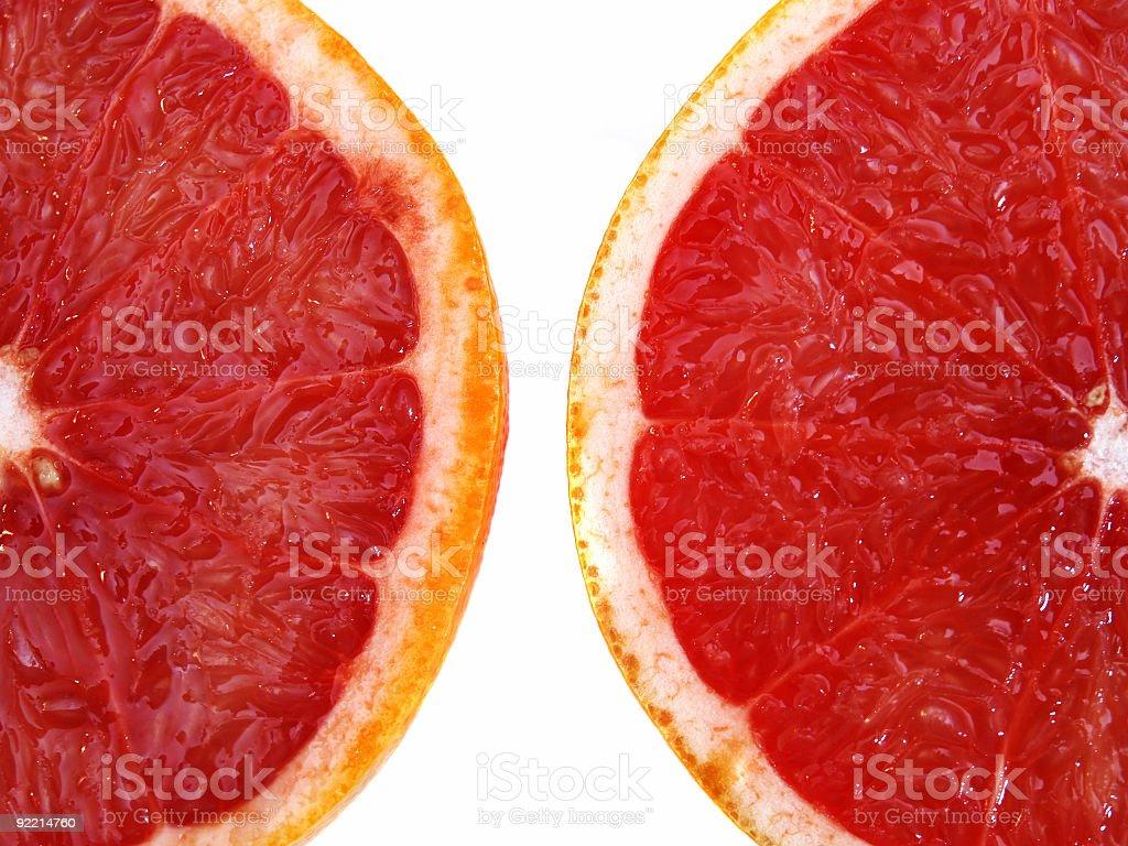 Sliced Oranges royalty-free stock photo