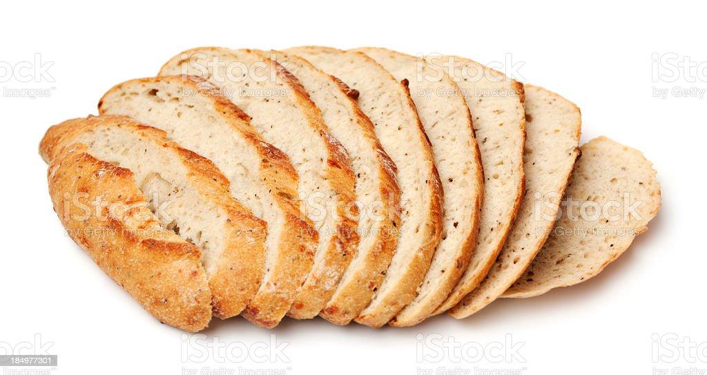 Scheiben rustikales Brot – Foto