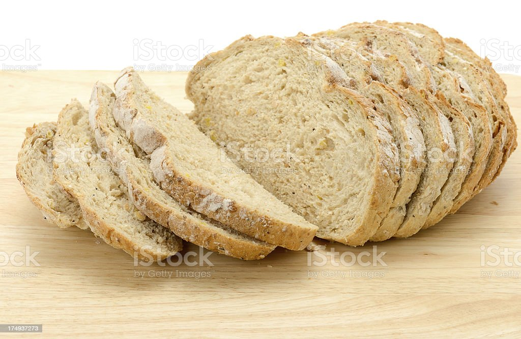 Sliced Rye Bread royalty-free stock photo