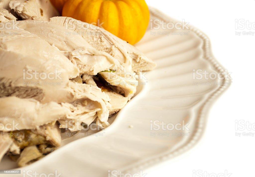 Sliced Turkey Meat royalty-free stock photo