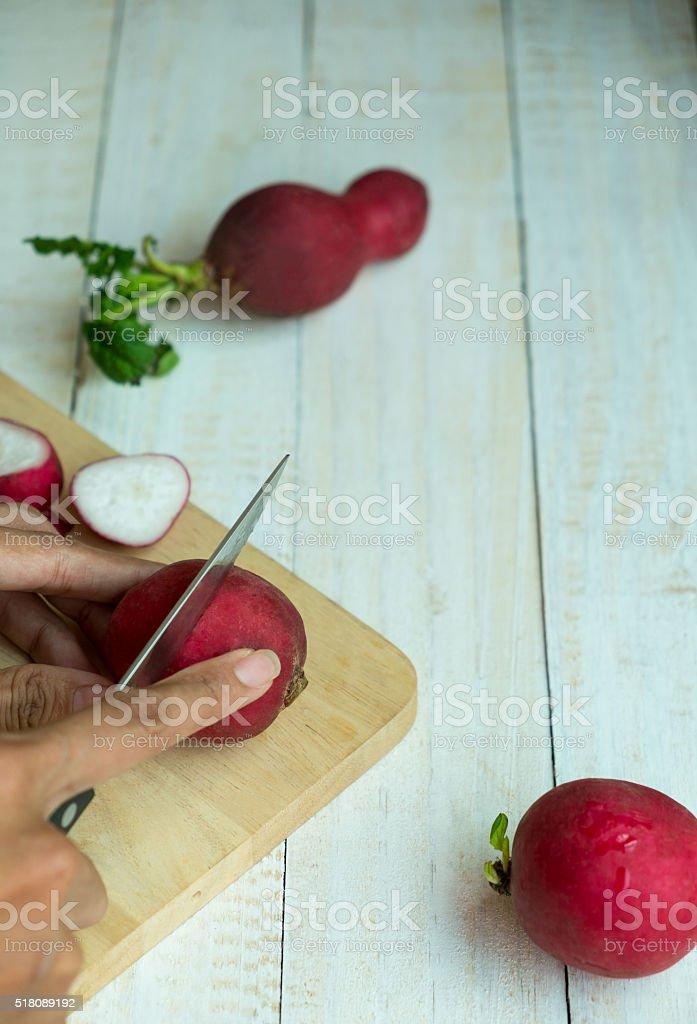 Geschnittenem Gemüse zum Kochen Lizenzfreies stock-foto