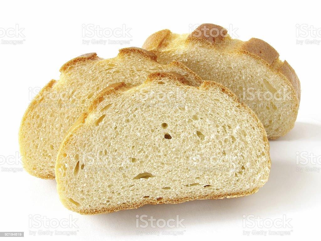 sliced white bread royalty-free stock photo
