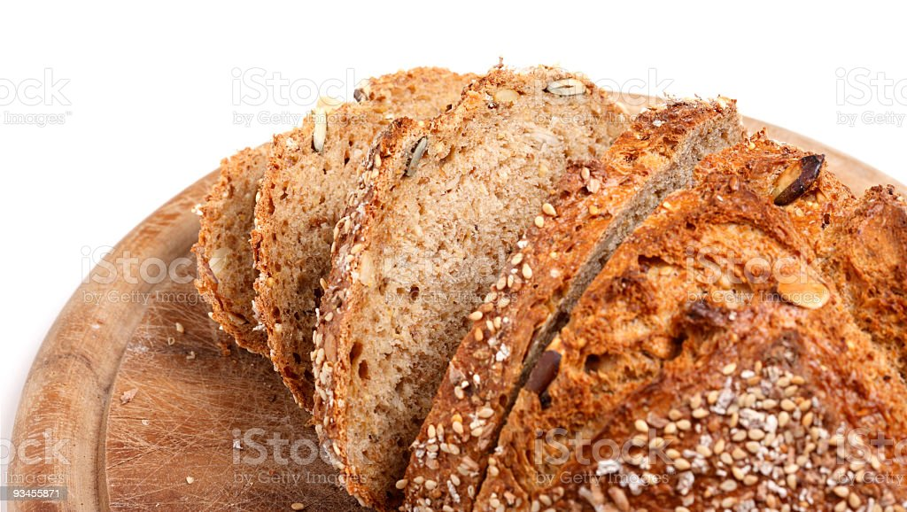 Sliced Wholemeal Bread (XXL) stock photo