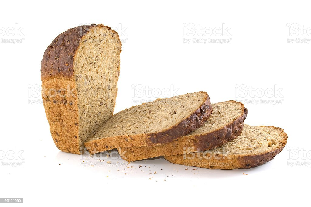Slices of bread royalty-free stock photo