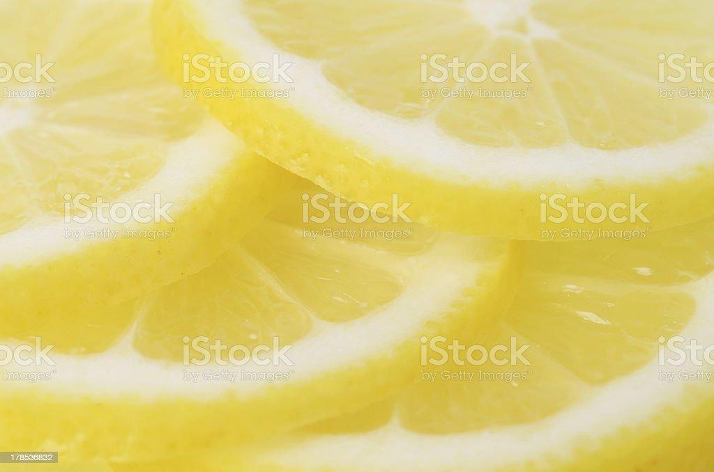 Slices of Lemon, royalty-free stock photo
