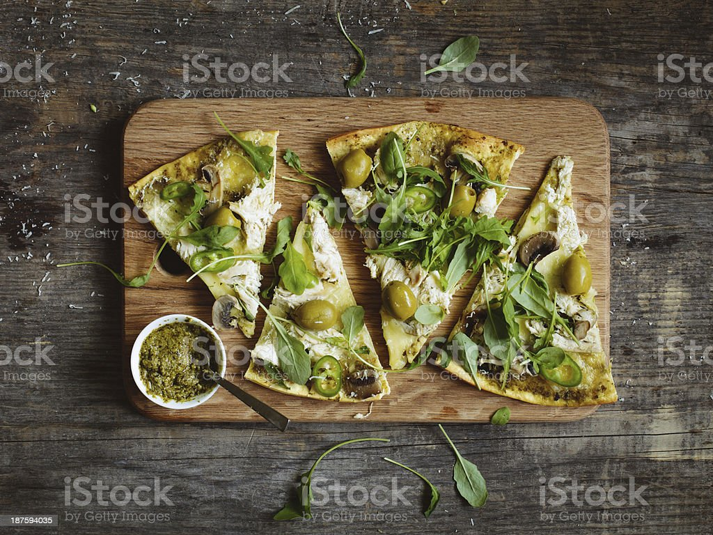 Slices of pizza royalty-free stock photo