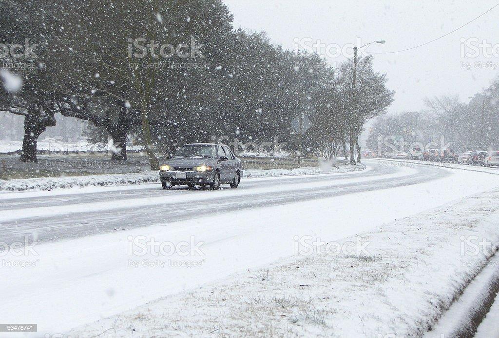 Slick Roads stock photo