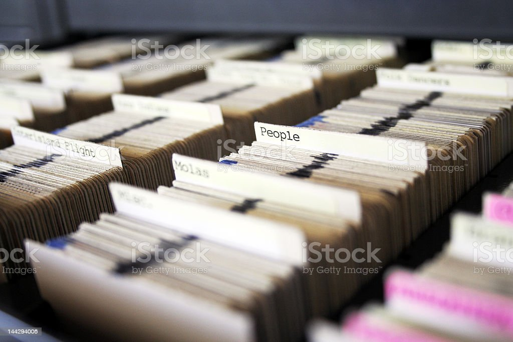 Slide collection royalty-free stock photo
