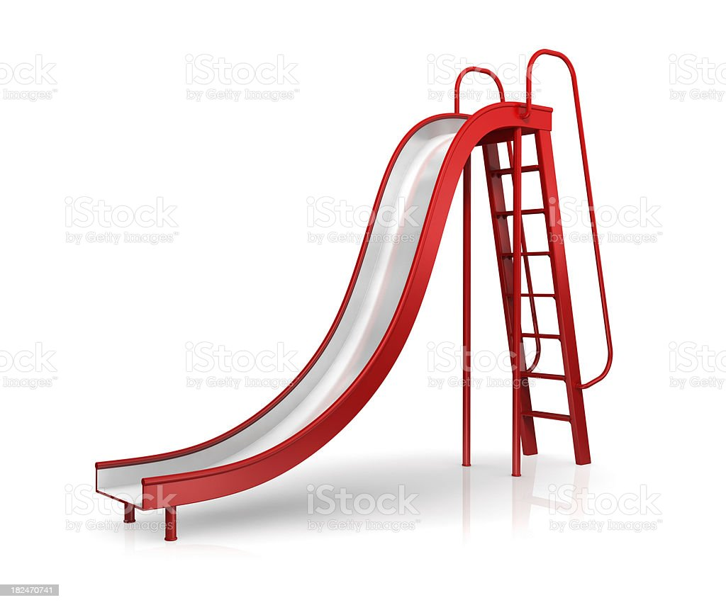 Slide royalty-free stock photo