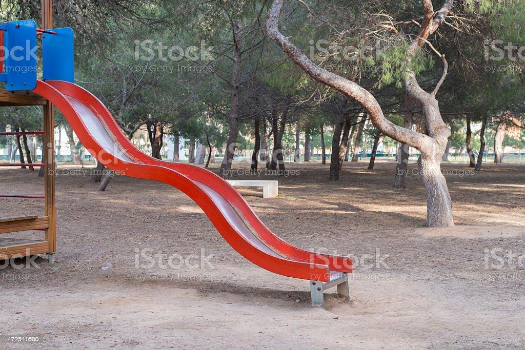 Slide. stock photo