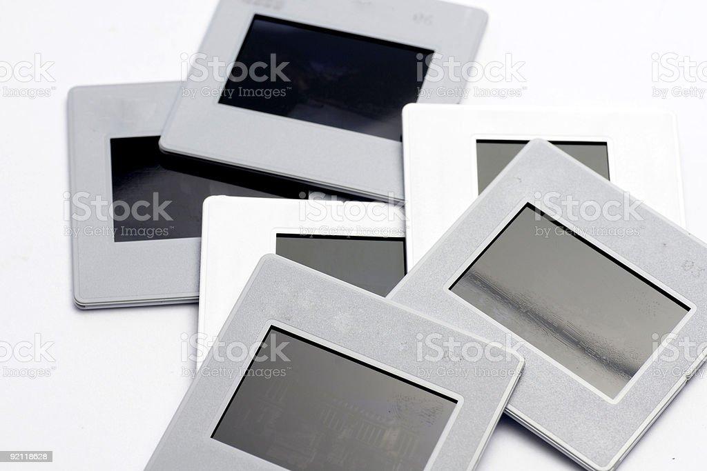 Slides royalty-free stock photo