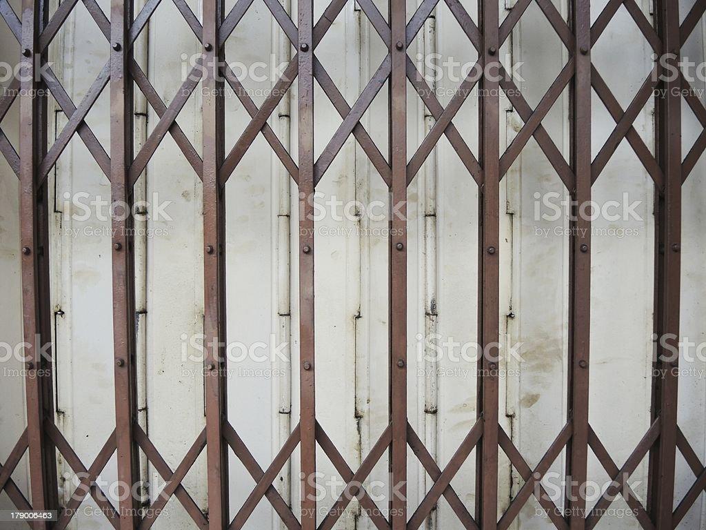 sliding door royalty-free stock photo