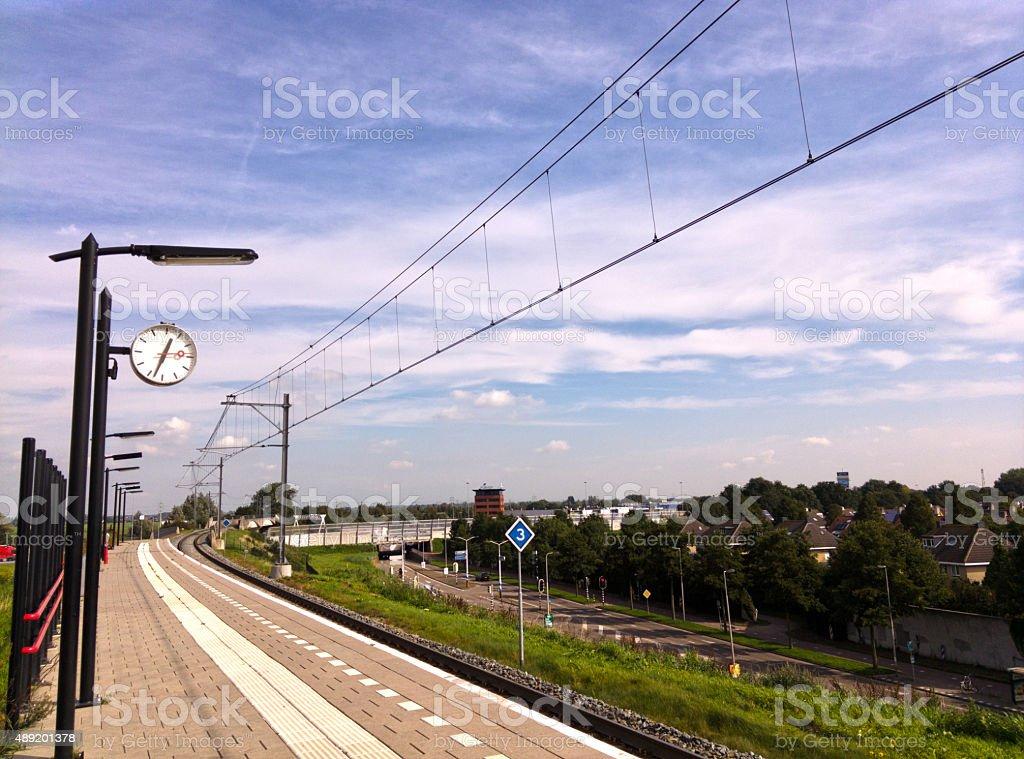 Sliedrecht station stock photo