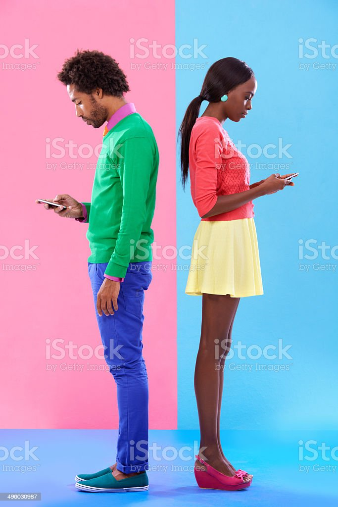 Slightly distracted royalty-free stock photo