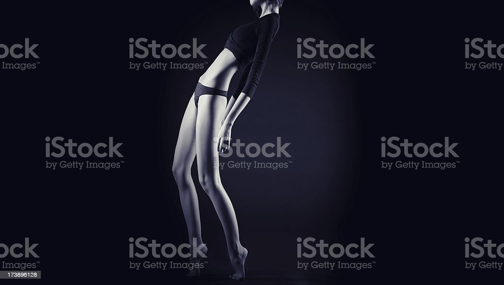 slim concept royalty-free stock photo