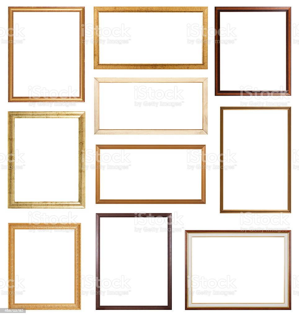 Slim Frames stock photo