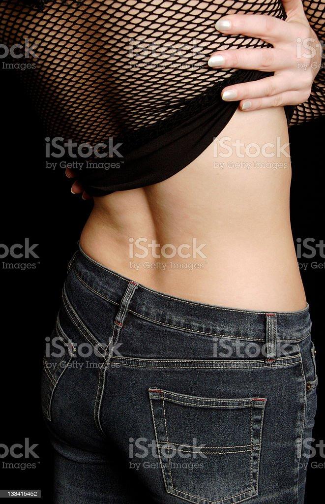 Slim Jeans stock photo
