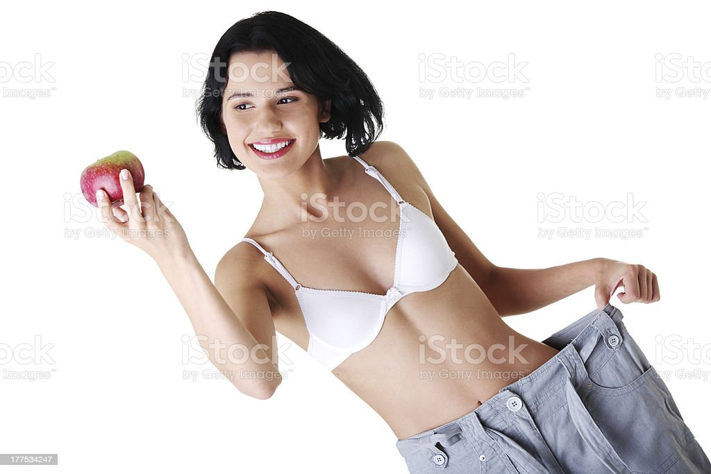 Slimming royalty-free stock photo