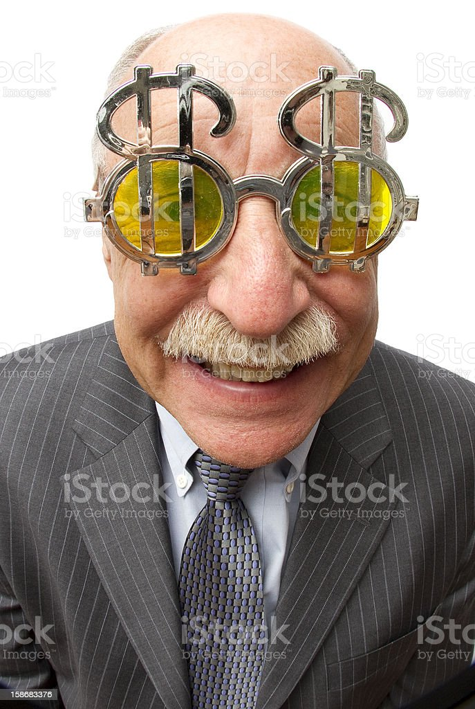Slimy Guy stock photo