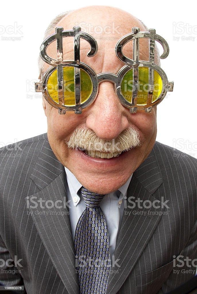 Slimy Guy stock photo