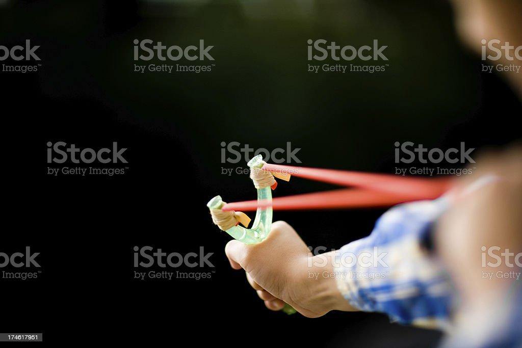 Slingshot stock photo