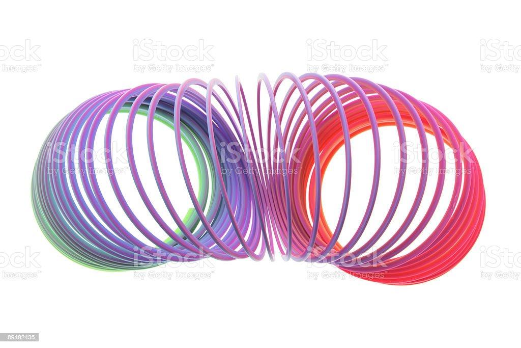 Slinky Toy stock photo