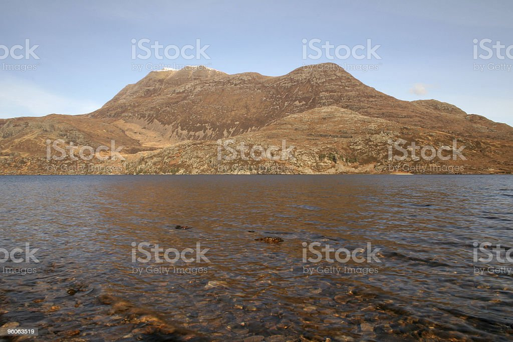 Slioch, Scottish Highlands stock photo